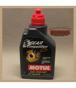 Motul GEAR COMPETICIÓN aceite de transmisión sintético 90W140 1L