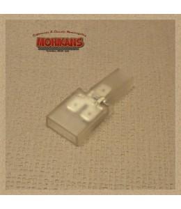 Conector transparente 1/2 polos