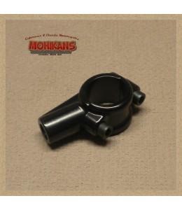 Abrazadera-adaptador M10 negro derecha