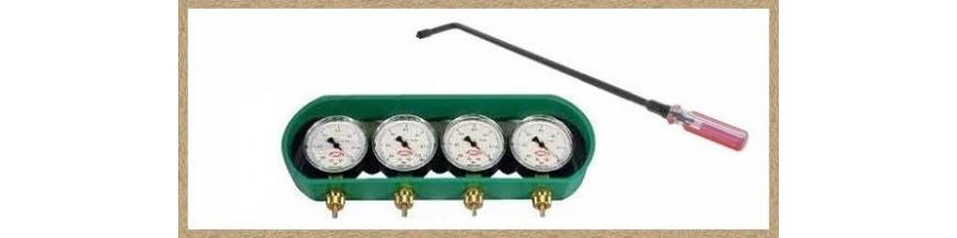 Vacúmetros-herramientas carburación
