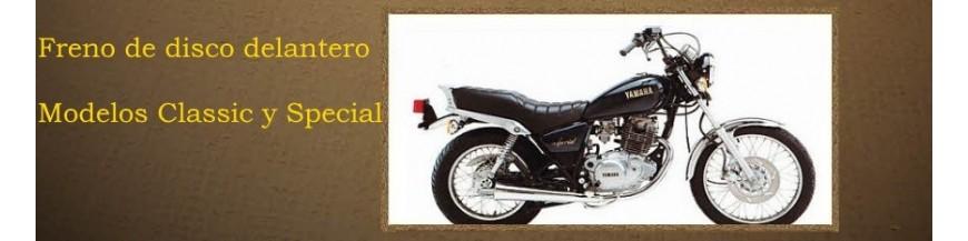 Yamaha SR250 freno de disco
