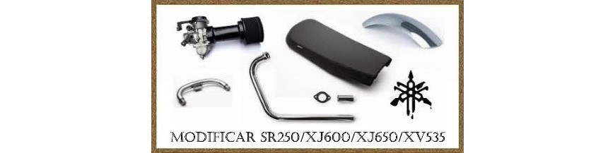 Modificar YAMAHA SR250/XJ650/XJ600/XS400